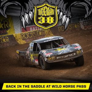 Deegan back in the saddle at Wild Horse Pass