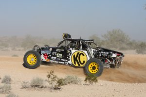 KC HiLites Class 1500 Car racing the Mint 400