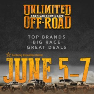 Unlimited Off-Road Expo, June 5-7, 2105
