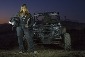 Danielle Weatherly and the GMH Motorsports XP 1000