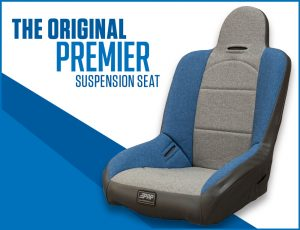 PRP's original suspension seat.